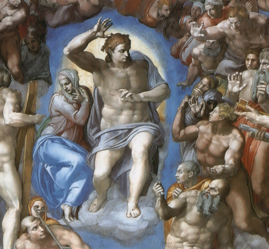 a history of michelangelos painting the last judgment The painting, last judgment depicts the ending of the world where the judgment is going to be held in front of the christ this artwork portrays the excellence of the.