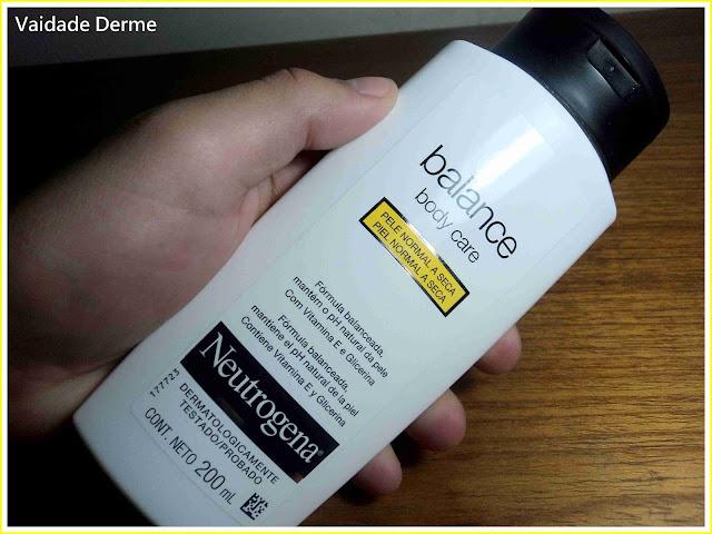 Balance Body Care Creme Hidratante da Neutrogena
