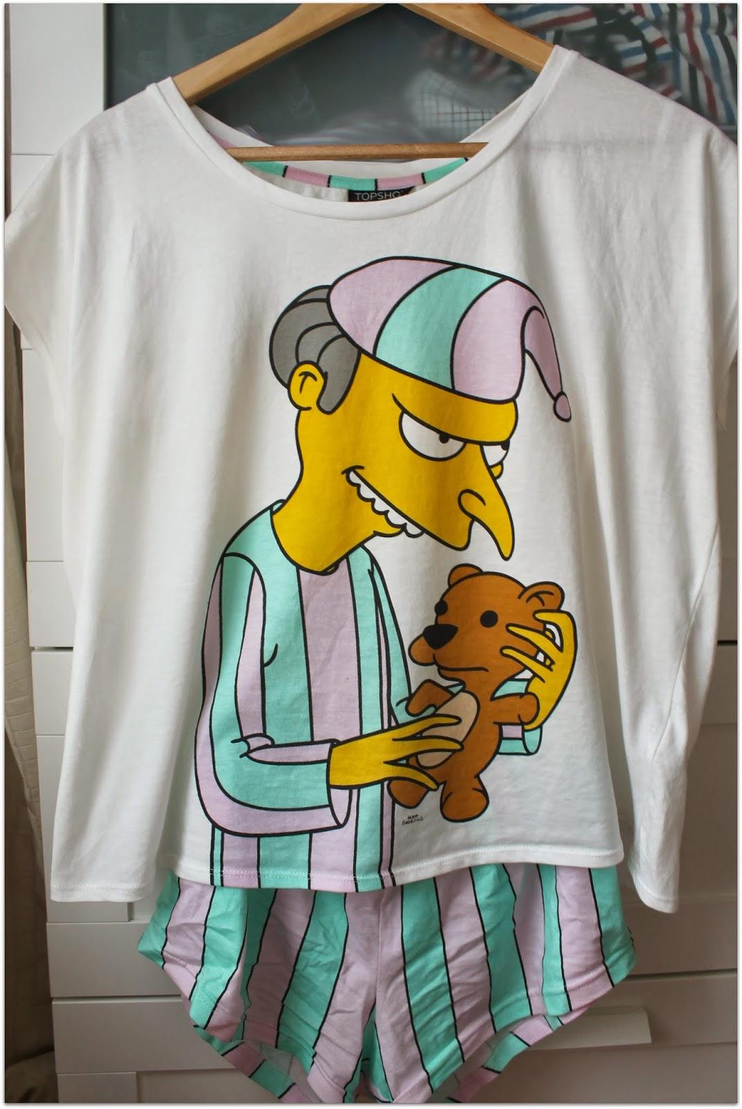 simpsons pyjamas