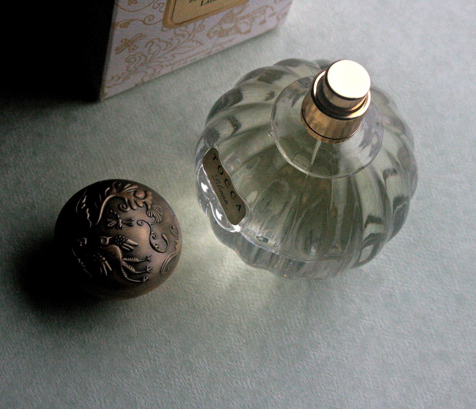 Tocca Liliana Eau de Parfum Bottle Design