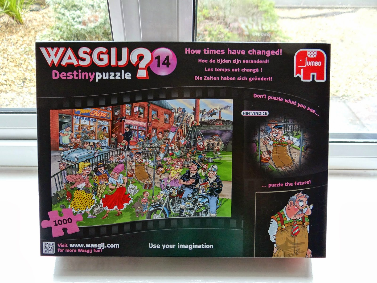 Wasgij Destiny 14: How TImes Have Changed, 1000 pieces puzzle, Jumbo Games Puzzle
