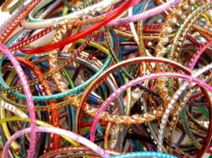 broken bangles by the pound for crafts