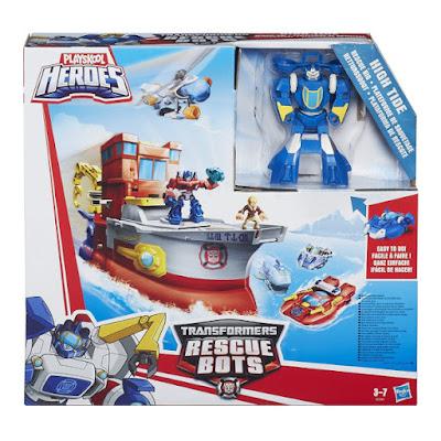 TOYS : JUGUETES - PLAYSKOOL Heroes  Transformers Rescue BotsPlataforma de rescate | High Tide  Producto Oficial 2015 | Hasbro B2054 | A partir de 3-7 años  Comprar Amazon España & buy Amazon USA