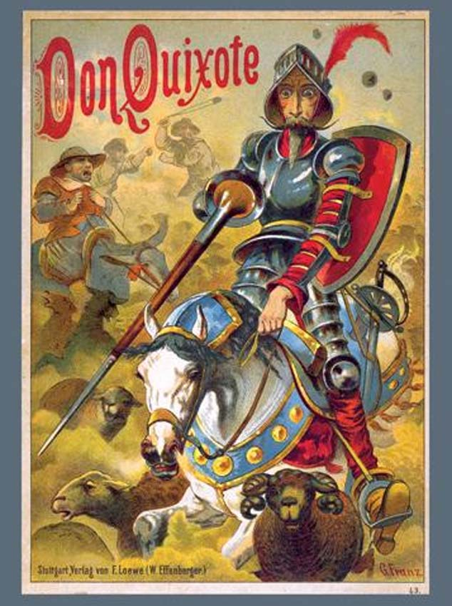 an analysis of don quixote a novel by miguel de cervantes Literature network » miguel de cervantes » don quixote » summary chapter 1  quexana read books about chivalry in his leisure time, which was plentiful as he .