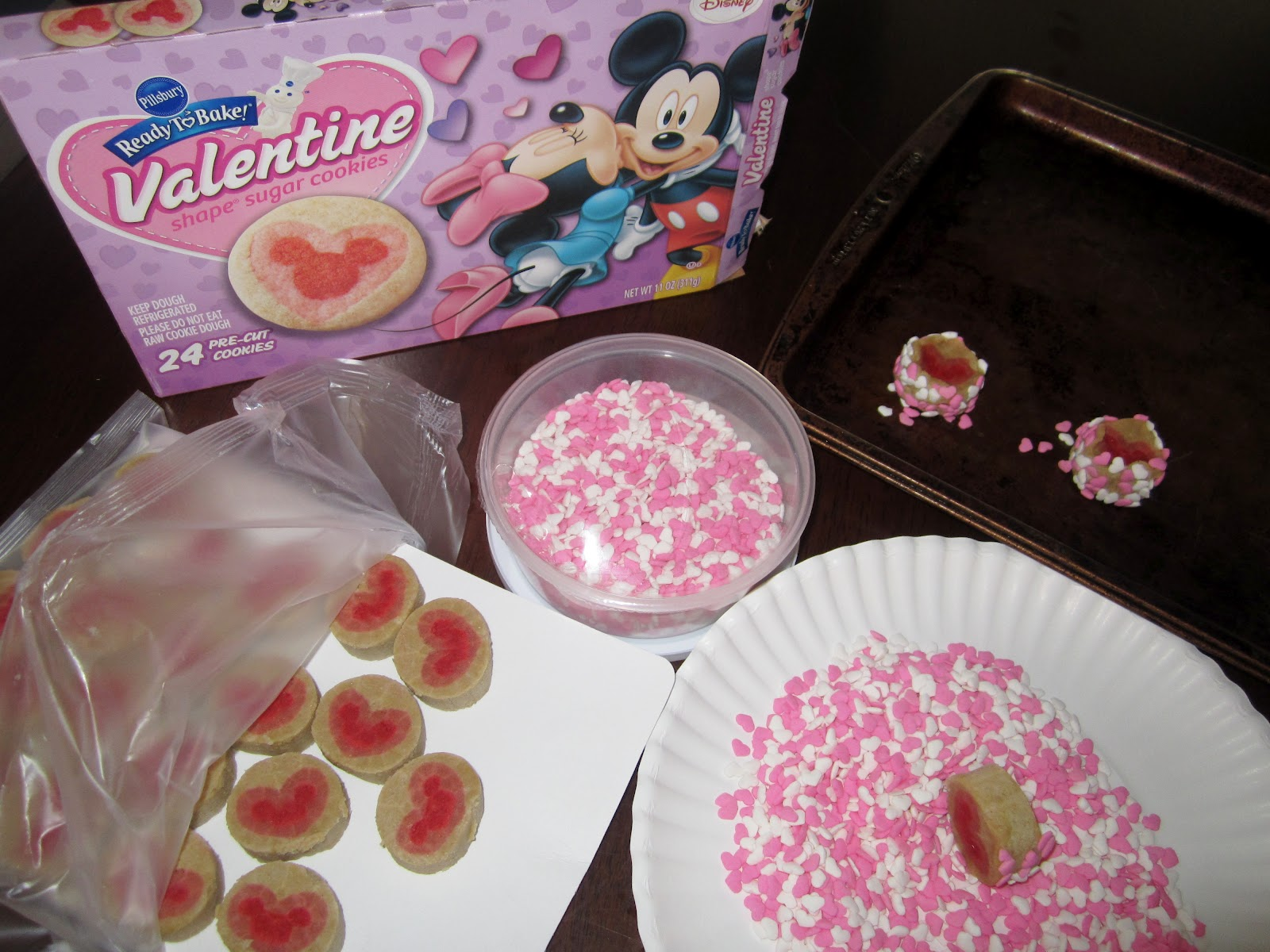 new valentines day pillsbury ready to bake shape cookies review giveaway myblogspark