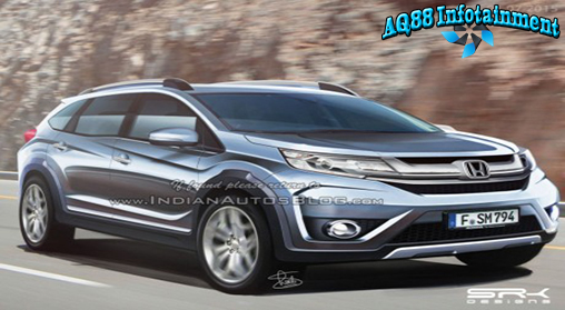 Setelah awal pekan ini Honda Motors Company mengumumkan rencana kehdairan Honda BR-V, kini rendering berupa gambar hasil rekayasa digital bermunculan. Salah satunya yang digarap ahli rekayasa desain mobil secara digital di India yang disebut sebagai rekaan versi produksi mobil tersebut.