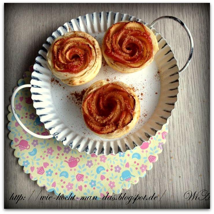 hier wird mit liebe gekocht rosen muffins. Black Bedroom Furniture Sets. Home Design Ideas