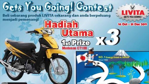 Livita 'Get's You Going' Contest