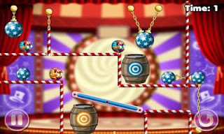 Screenshots of the Clowning Around for Android tablet, phone.