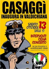 CASAGGI' INAUGURA IN VALDICHIANA!