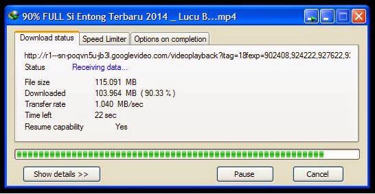 Cara Mempercepat Download  dengan IDM