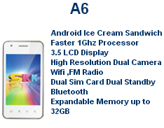 SKK A6 Specs, Price and Availability