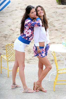 Photos Adriana Lima et Alessandra Ambrosio