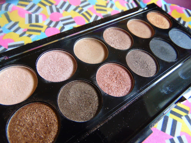 7 days 7 palettes MUA eyeshadow palette undressed
