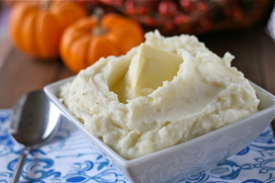 ... mashed potatoes! And, this is a classic - perfect mashed potatoes