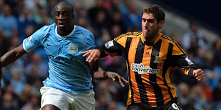Video Cuplikan Gol Manchester City VS Hull City 2-0