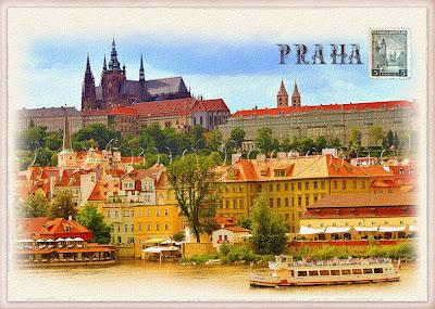 Прага. Свадьба в Праге.