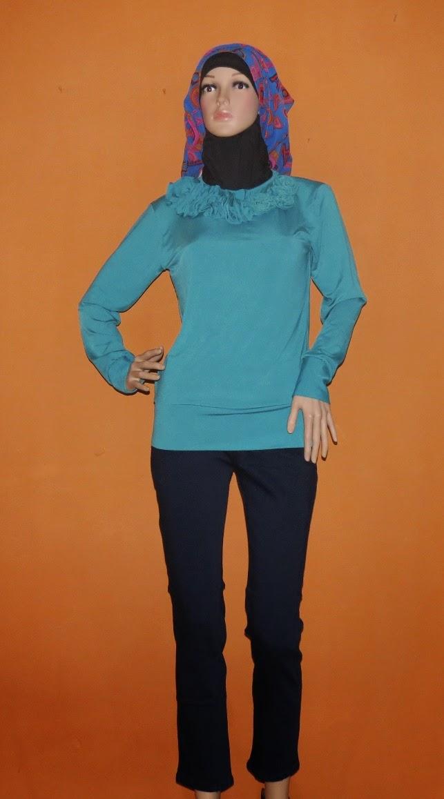 Baju Bahan Kaos Jersey Polos Import BKM2097