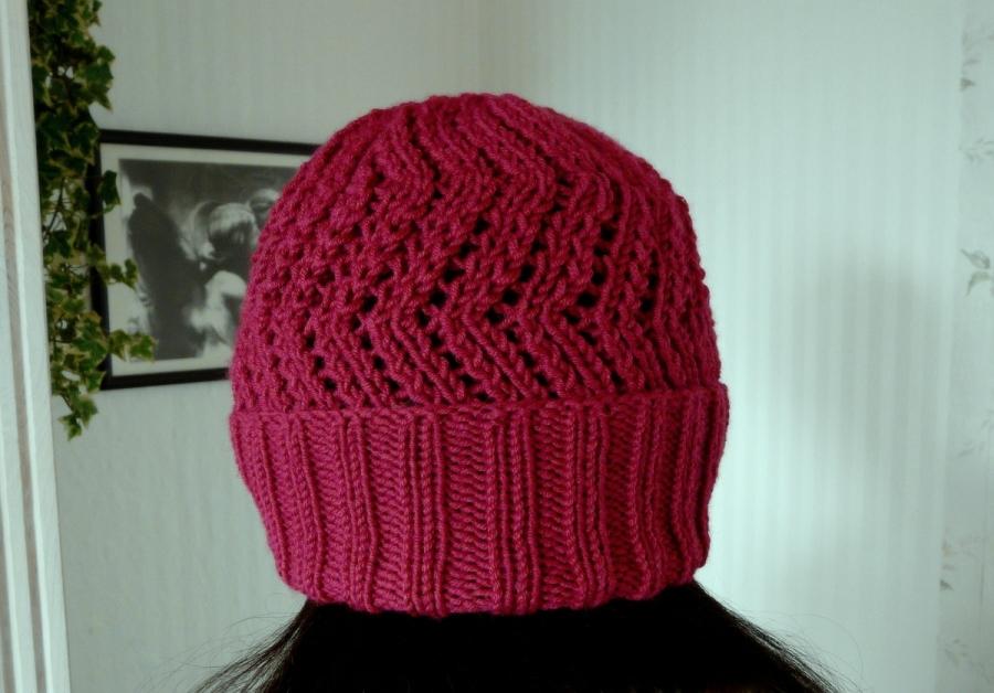 Mütze, gestrickt