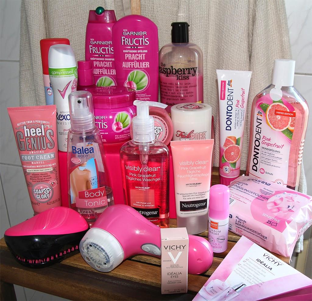 liris beautywelt: mein badezimmer ist pink, Hause ideen