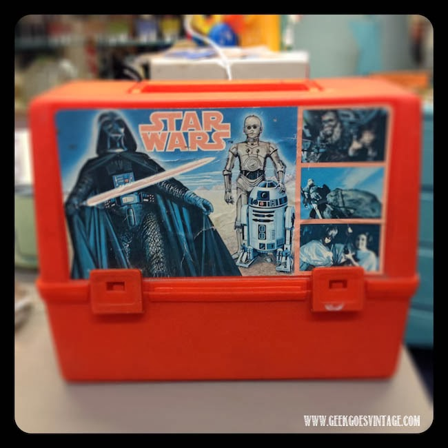 Vintage Star Wars Lunch Box : star wars lunch box - Aboutintivar.Com