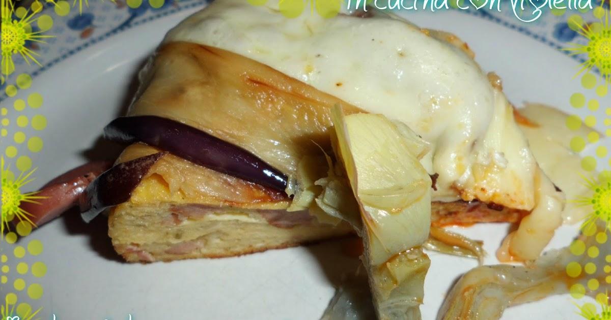 In Cucina Con Violetta: Torta salata con carciofi melanzane e ...