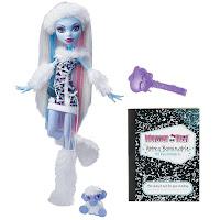 La poupée officielle d'Abbey Bominable School Out
