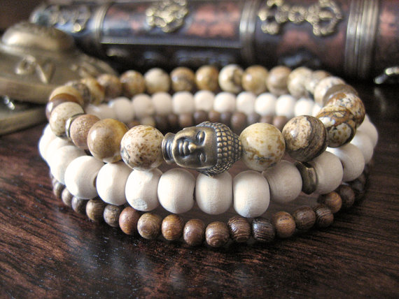 https://www.etsy.com/uk/listing/163187810/mens-buddha-bracelet-set-3-bracelets