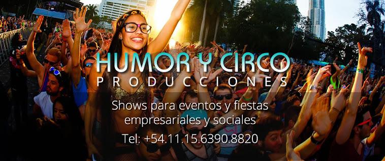 artistas de circo / HUMORYCIRCO.COM / show de circo para eventos y fiestas en argentina