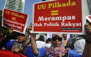 10 PKPU 2015 terkait Peraturan Pilkada telah disahkan
