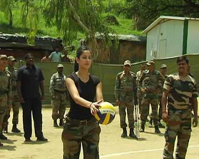 katrina kaif with army