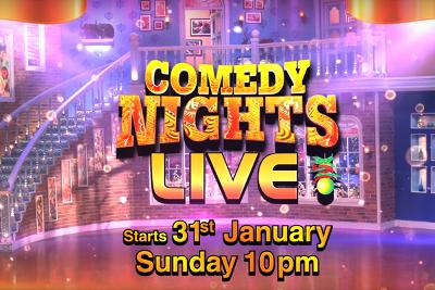 Comedy Nights Live 31 Jan 2016
