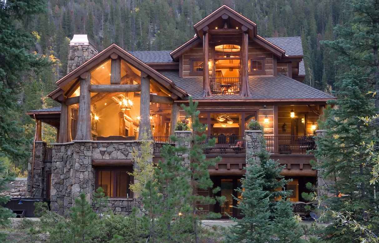 The most popular iconic american home design styles for Log house plans