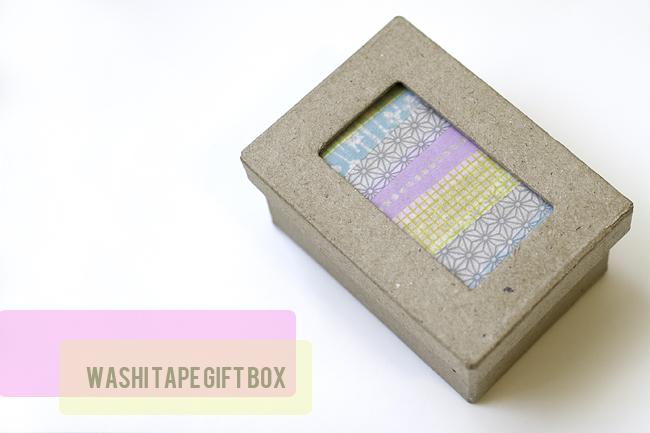 Washi Tape Gift Boxes Lbg Studio
