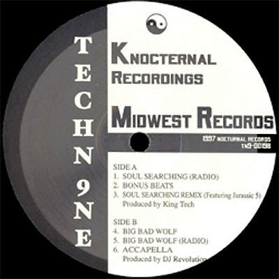 Tech N9ne – Soul Searchin' / Big Bad Wolf (VLS) (1997) (320 kbps)