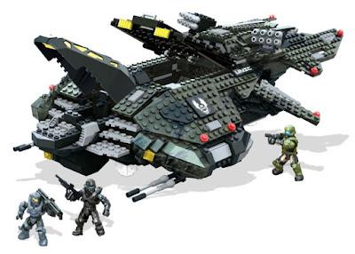 TOYS : MEGA BLOKS : Halo  Aeronave de combate Vulture de UNSC  UNSC Vulture Gunship   Producto Oficial 2015 | CNG71 | Piezas: 1031 | Edad: +8 años  Comprar en Amazon España & Buy Amazon USA