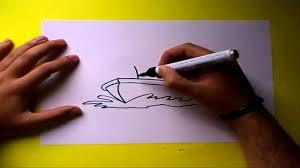 Cómo dibujar un barco