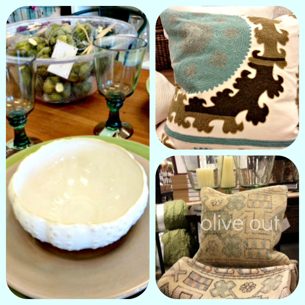 Olive Out: Pottery Barn Outlet