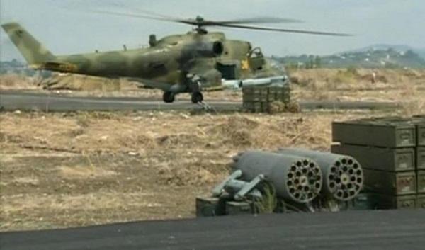 Rusia Hancurkan Kamp FSA di Idlib