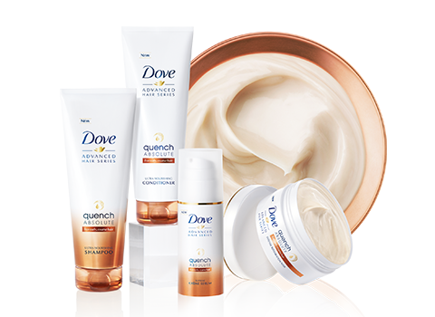 Dove Quench products