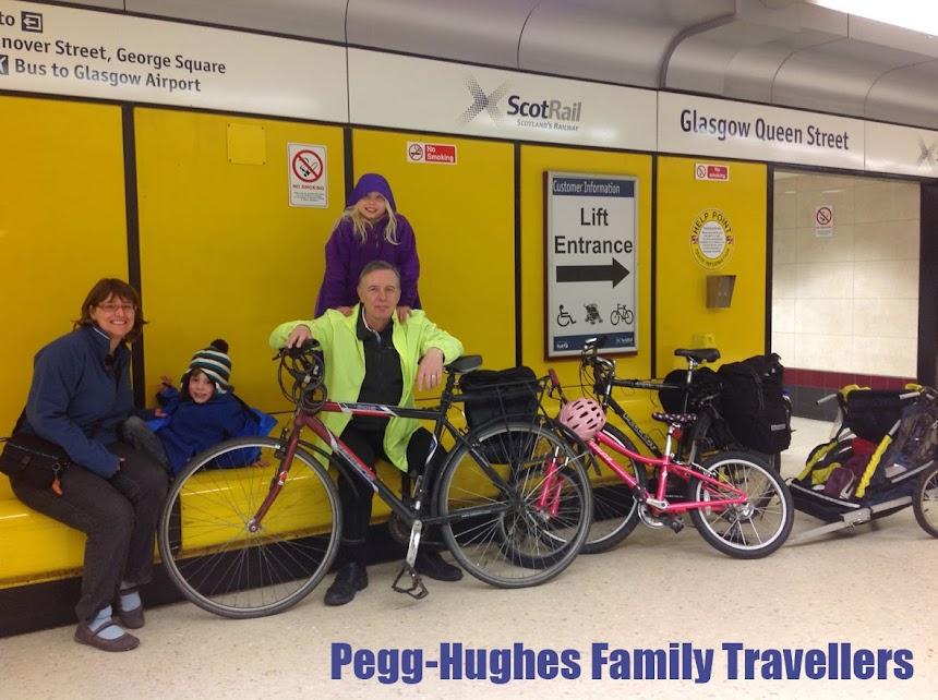 Pegg- hughes family travellers 'wanderlust'