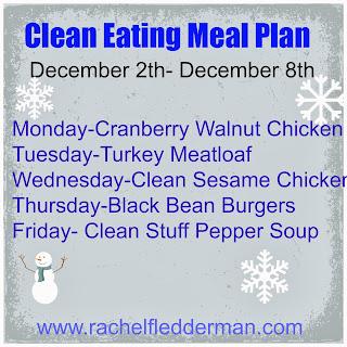 Clean Eatin Meal Plan