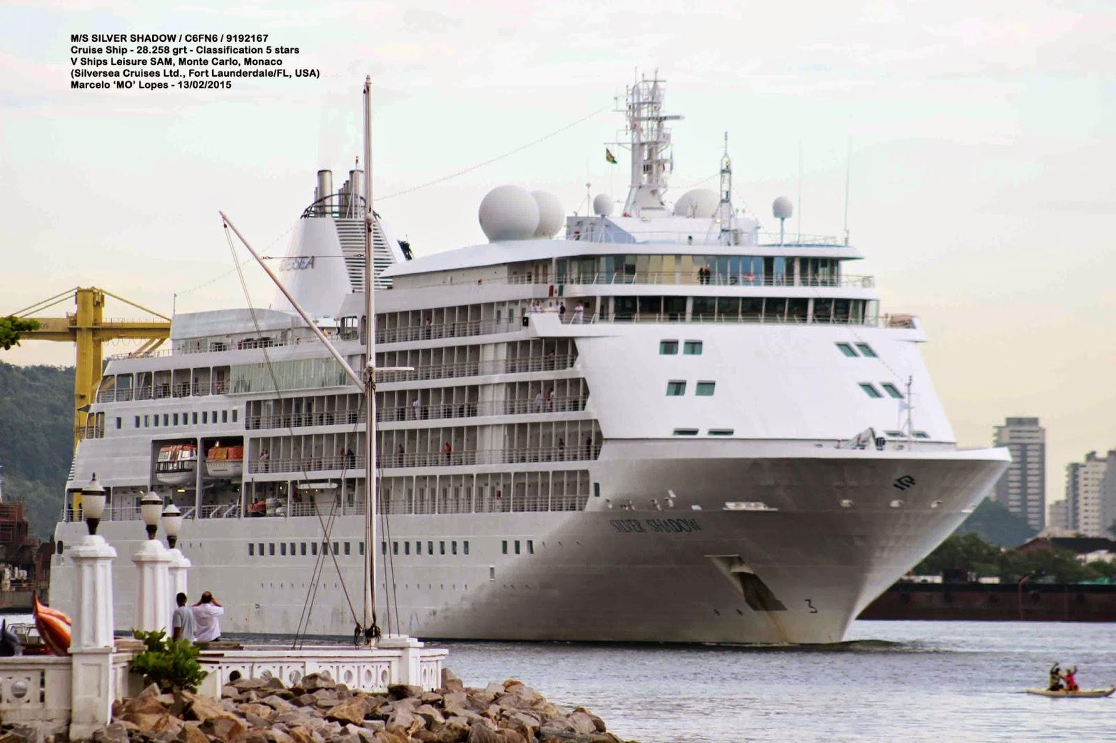 Santos shiplovers m s silver shadow c6fn6 cruzeiro de for Mariotti arredamenti srl genova