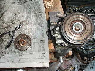 Compresor aire acondicionado Toyota Corolla Polea