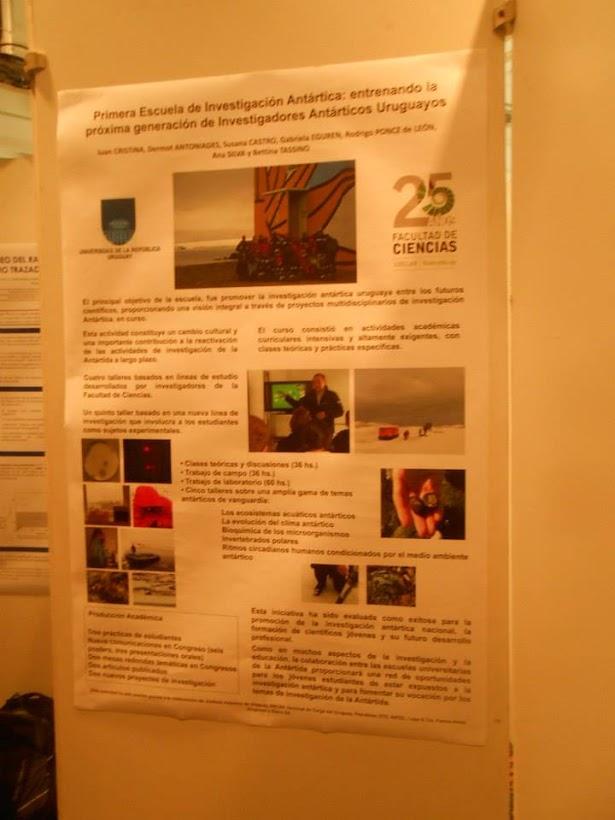 VIII Congreso Latinoamericano de Ciencia Antártica 2015 - 8 y 9-10-2015