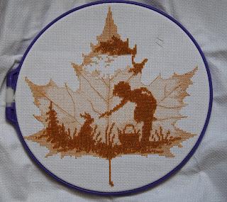 Осенний силуэт повитруля