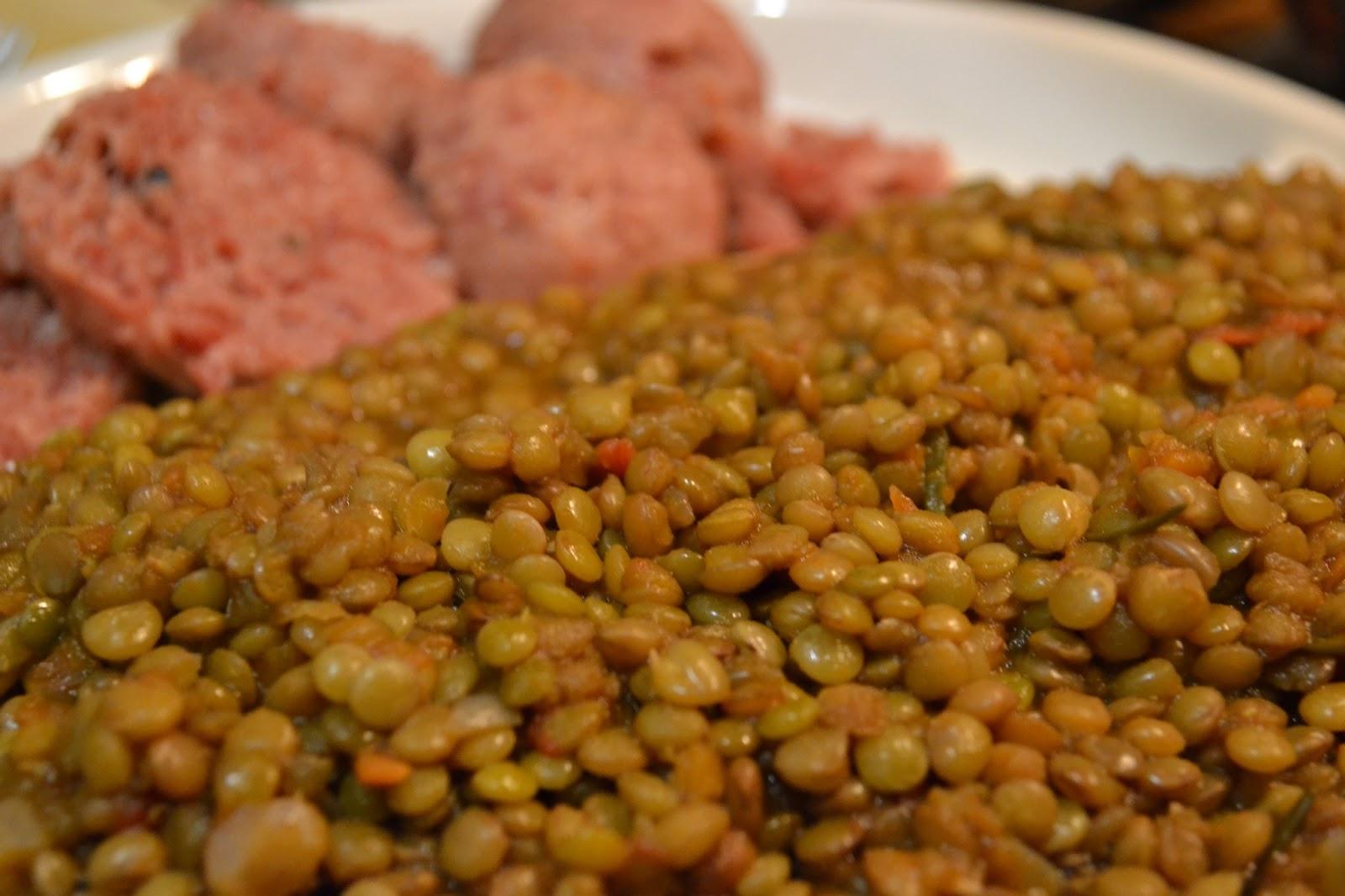 L 39 arancello speziato un classico lenticchie in umido - Lenticchie a bagno ...