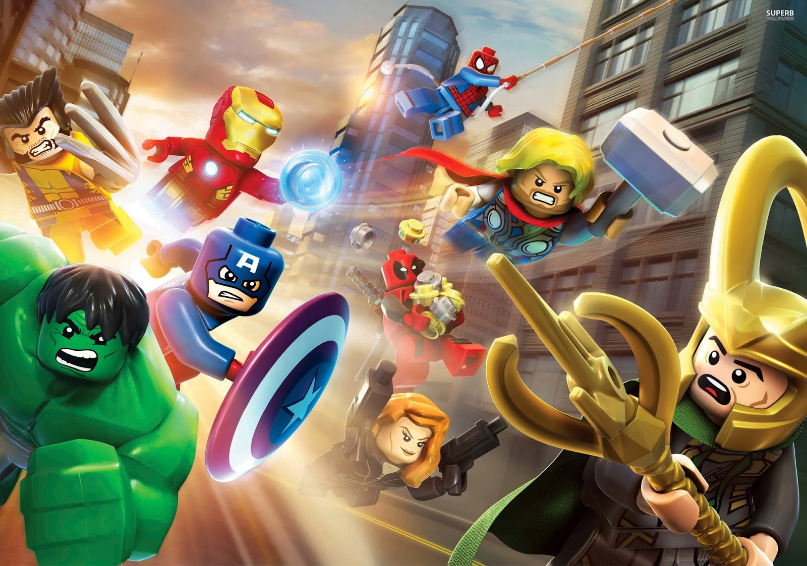 Review Lego Marvel Super Heroes Xbox One Digitally Downloaded