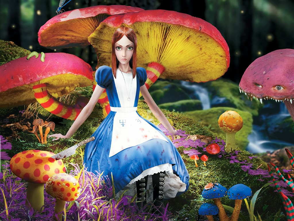 FREE HD WALLPAPER DOWNLOAD: Alice in Wonderland Wallpaper