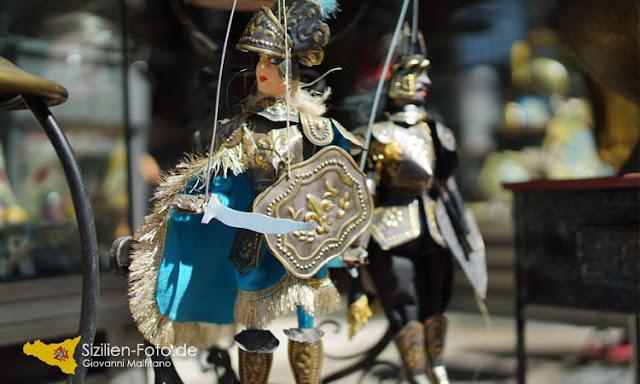 Pupi Siciliani Marionetten